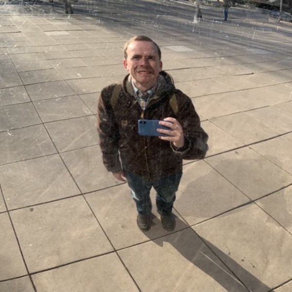 Chet Collins at the Bean, Chicago
