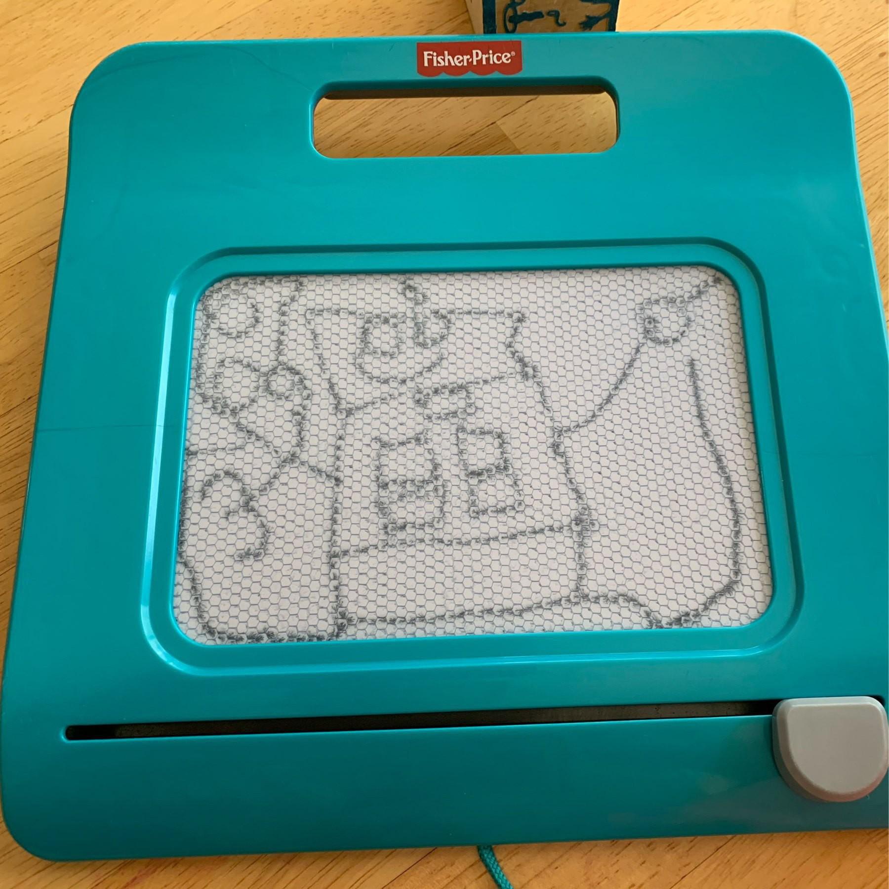 Robot drawn on magna-doodle